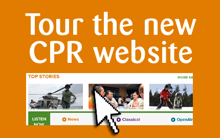 Photo: CPR has a new website
