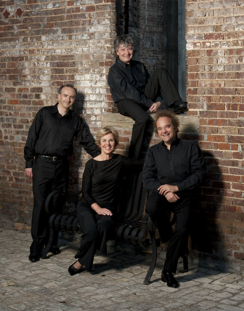 Photo: Takacs Quartet vertical