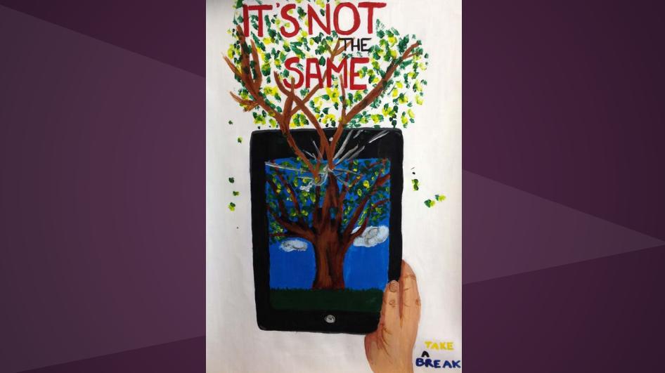Photo: Columbine Student poster