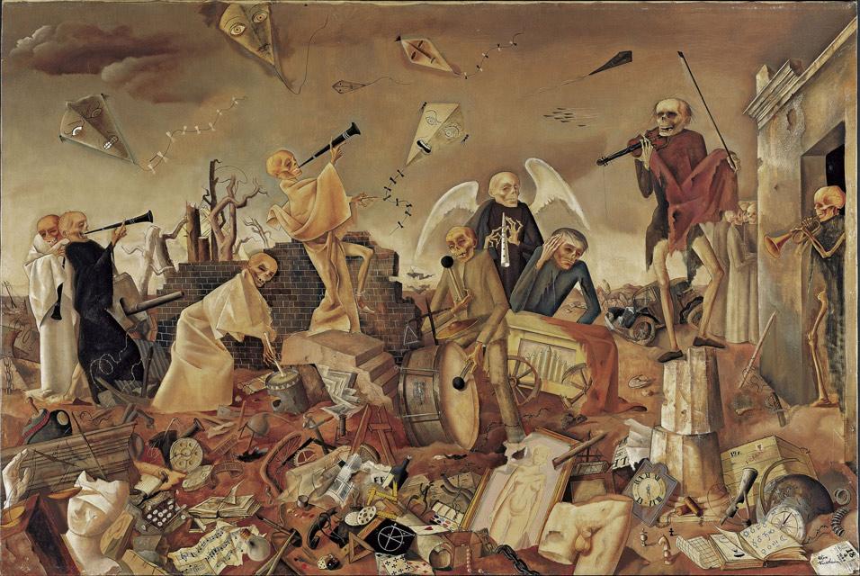 Image: Felix Nussbaum Triumph of Death