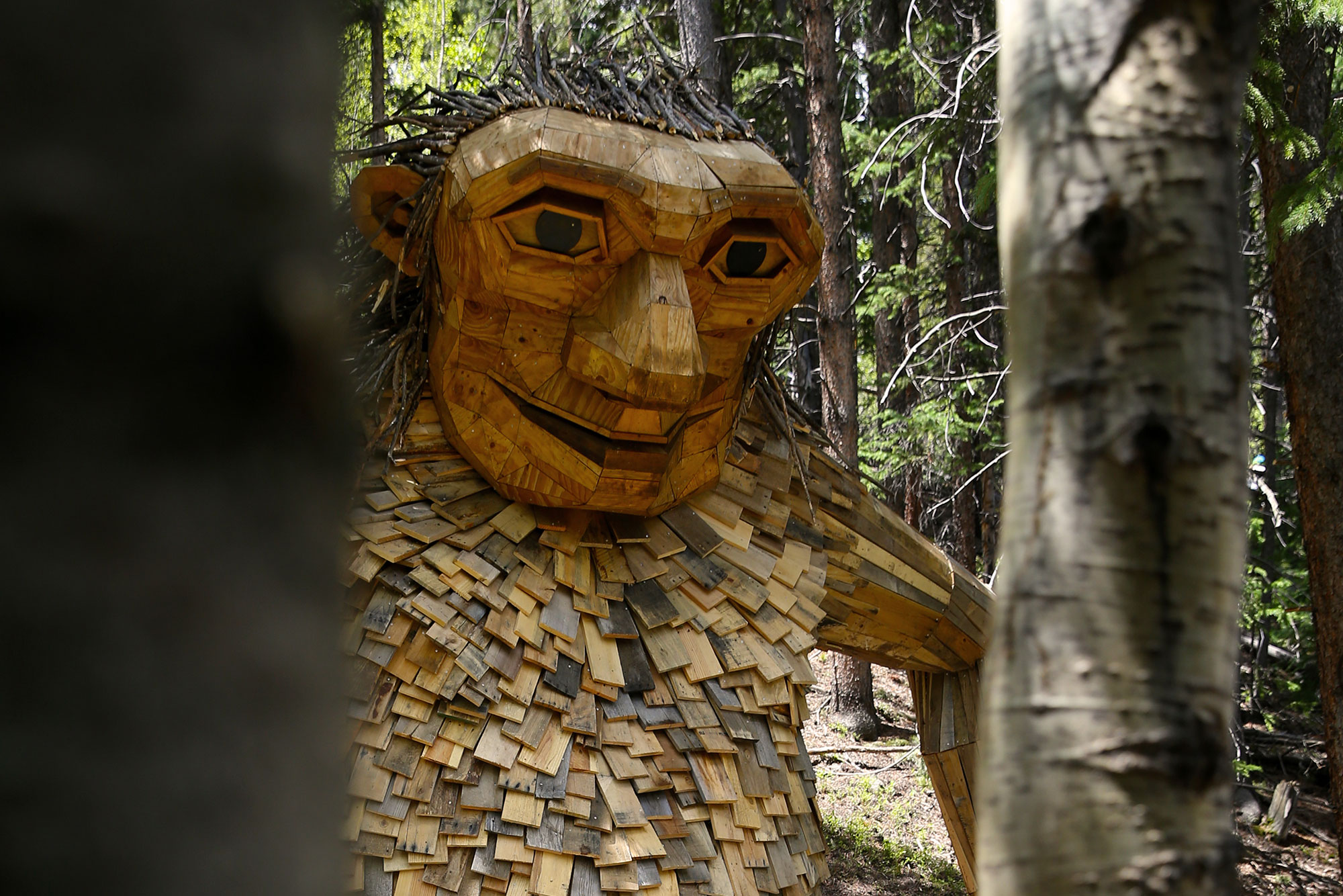 Photo: Isak Heartstone Trail Troll New Location