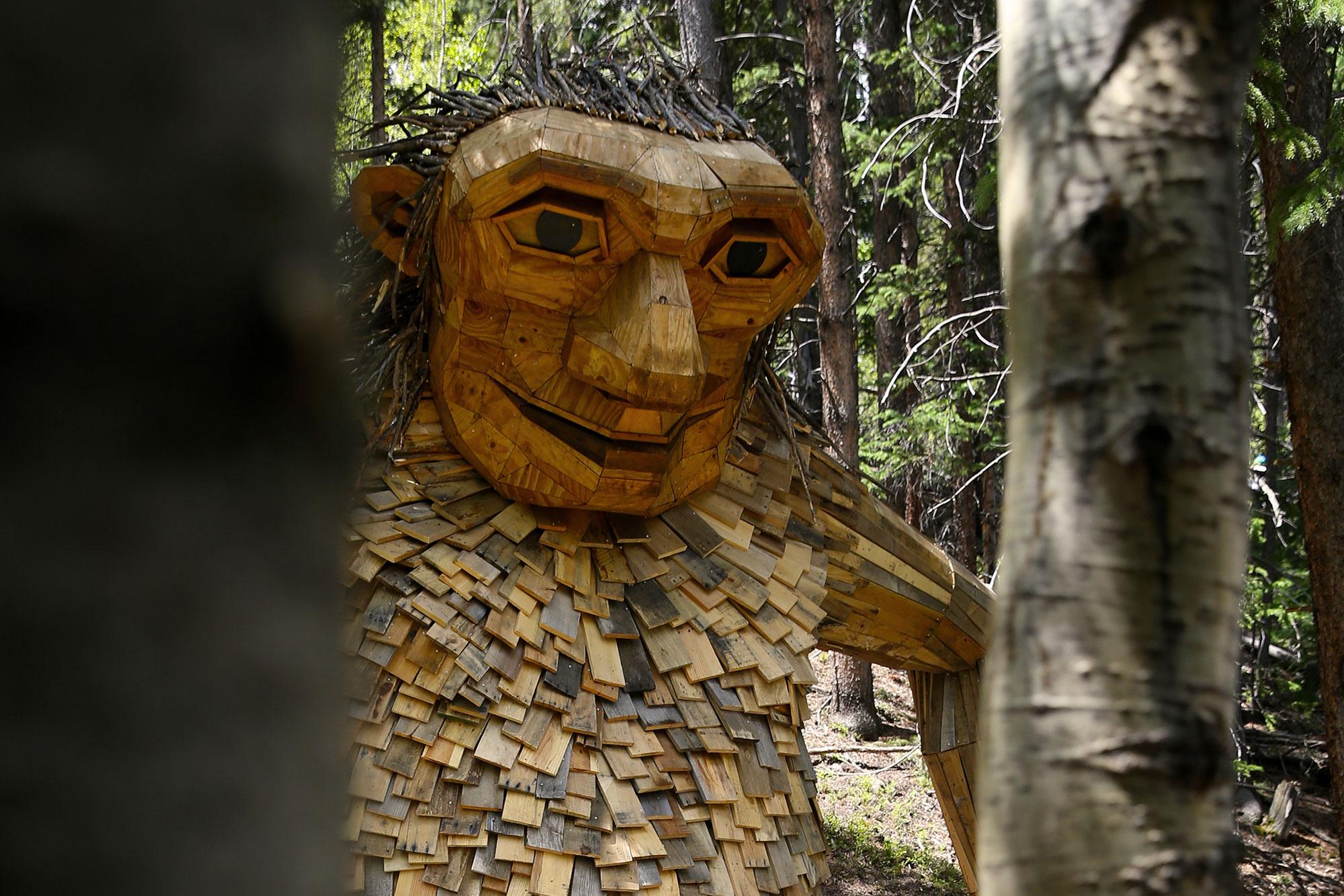 Photo: Isak Heartstone Trail Troll New Location