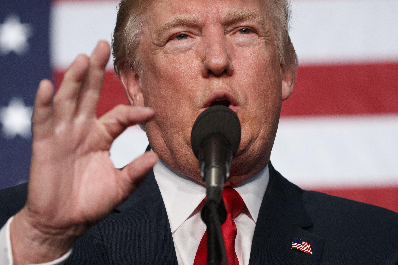 Photo: Trump In Golden October 29 2016 (AP)