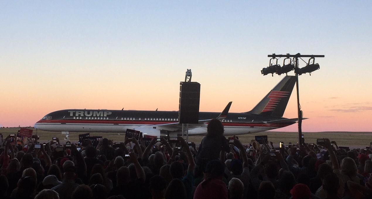Photo: Trump Plane In Colorado Springs