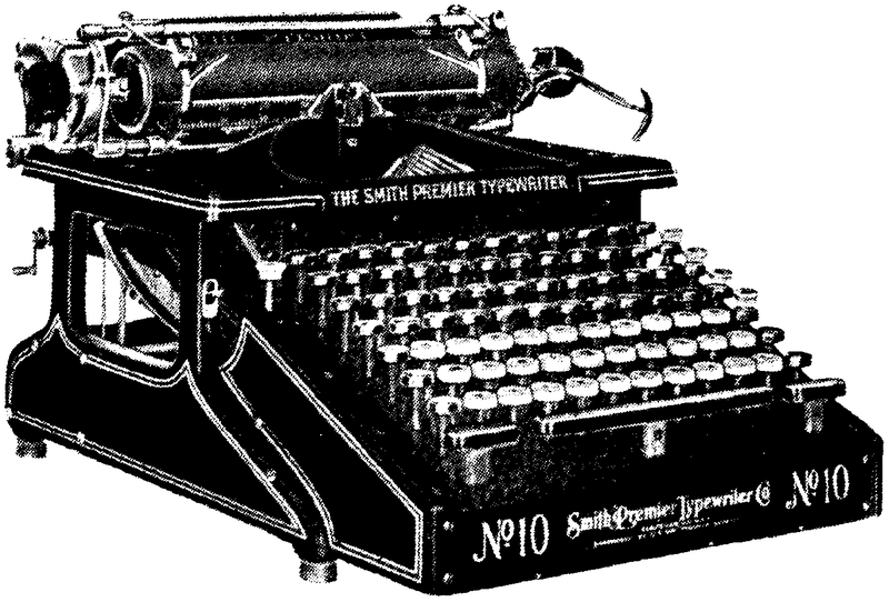 Image: Loud and Clear typewriter