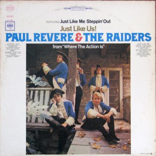 photo: Paul Revere album cover