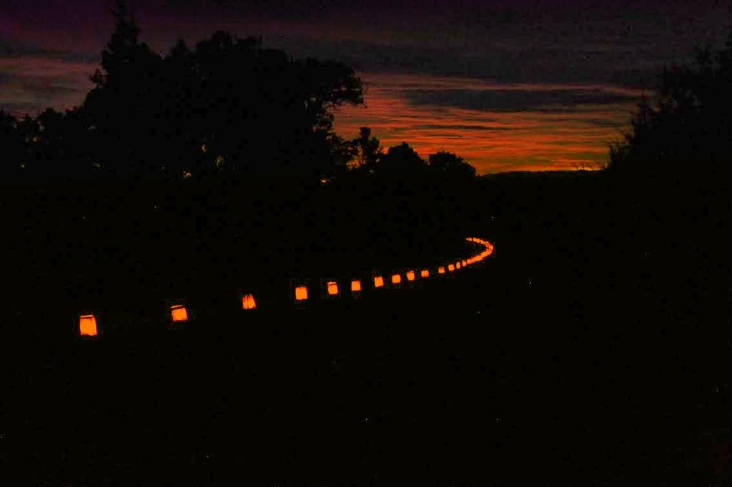 Photo:Mesa Verde sunset luminaria