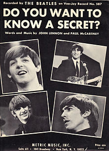 Photo: Beatles 'Do You Want To Know A Secret'