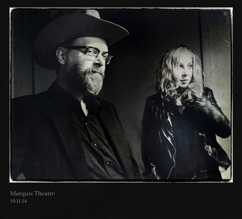 Photo: Slim Cessna and Michelle McManus