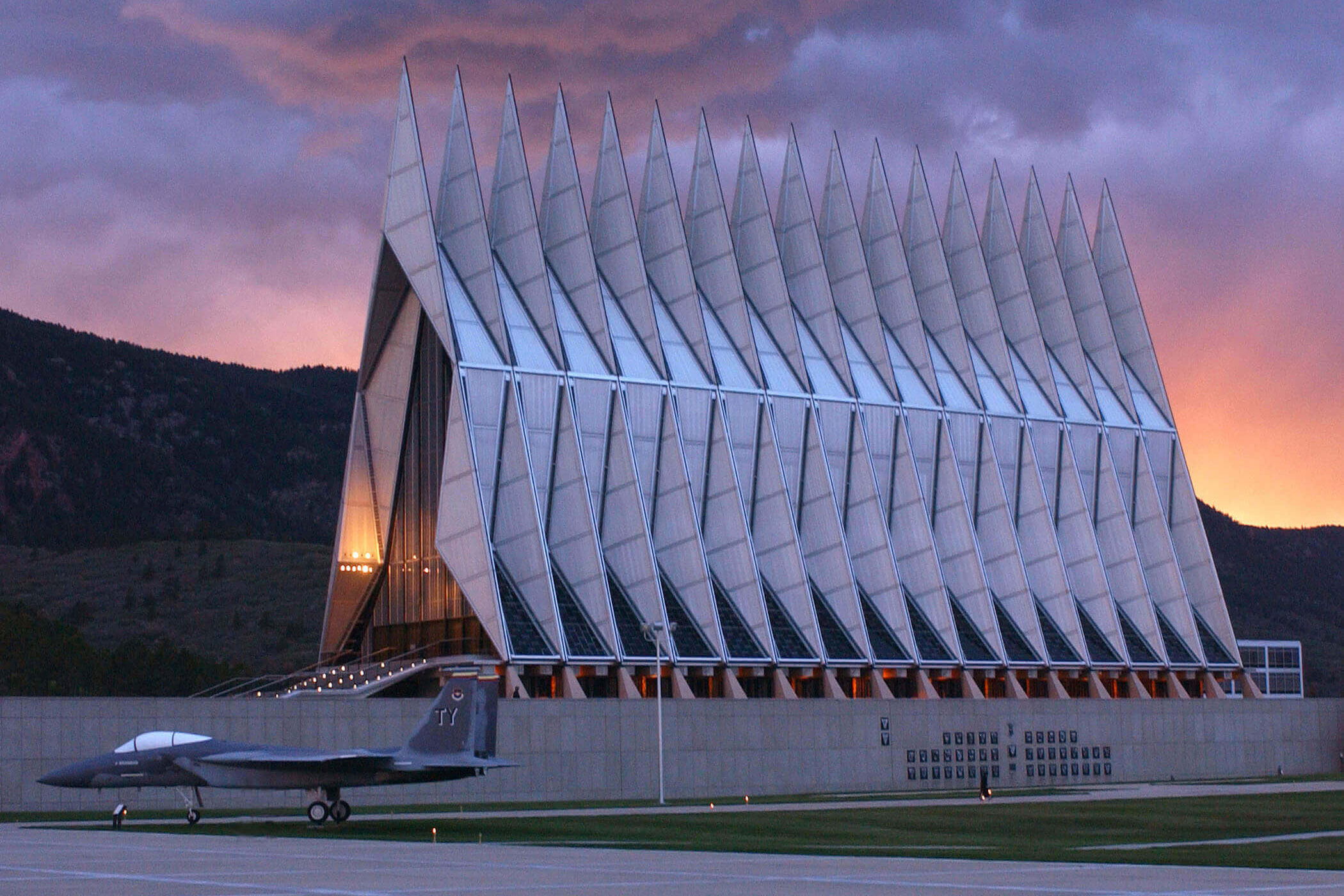 Photo: Air Force Academy Cadet Chapel - Courtesy