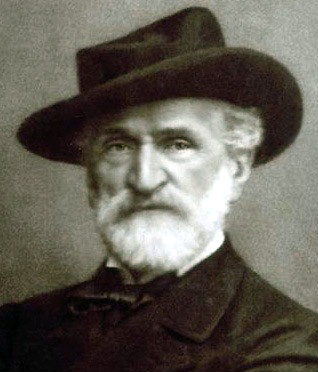 Photo: Opera composer Giuseppe Verdi