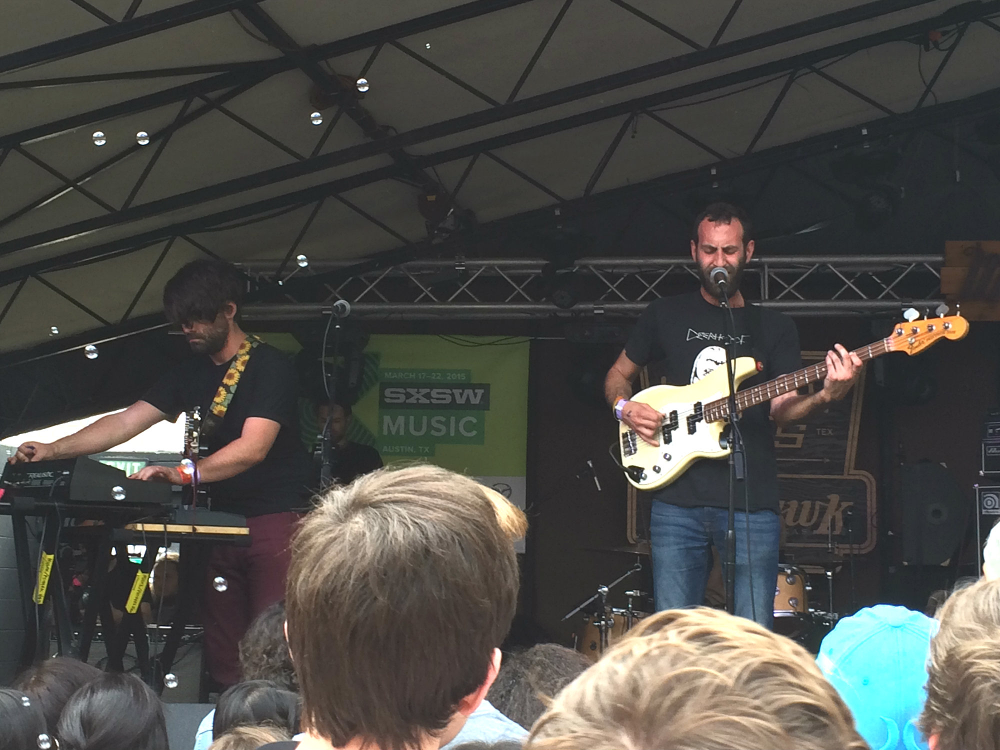 Photo: Viet Cong at SXSW 2015
