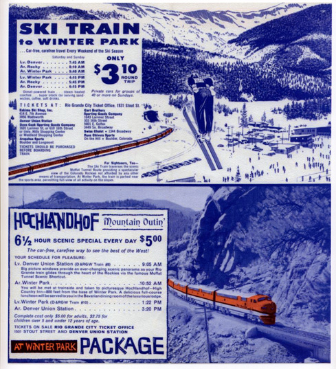 Photo: Ski Train Vintage Promo (Cropped For Homepage)