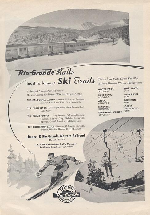 Photo: Vintage Ski Train 3