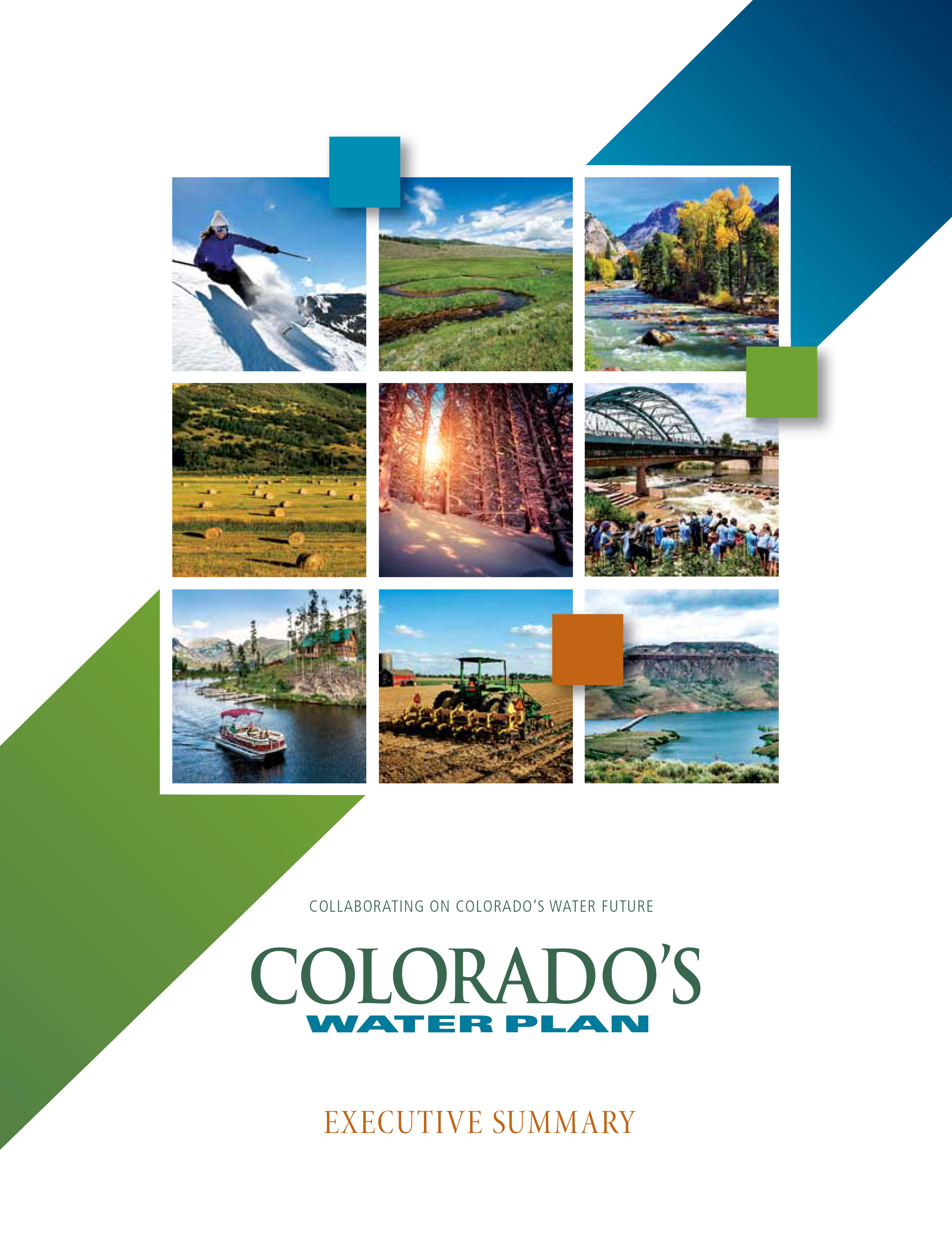 Photo: Colorado Water Plan Cover