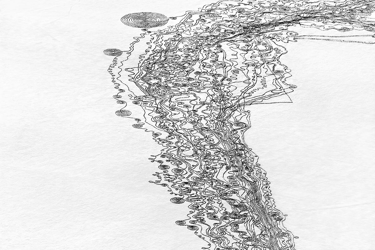 Photo: Snow drawing 1