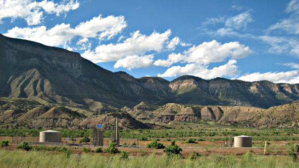 Photo: western slope gas well