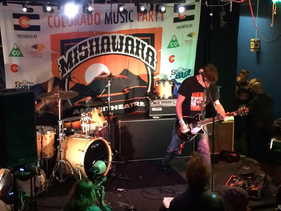 Photo: In the Whale at the Colorado Music Party at SXSW 2015
