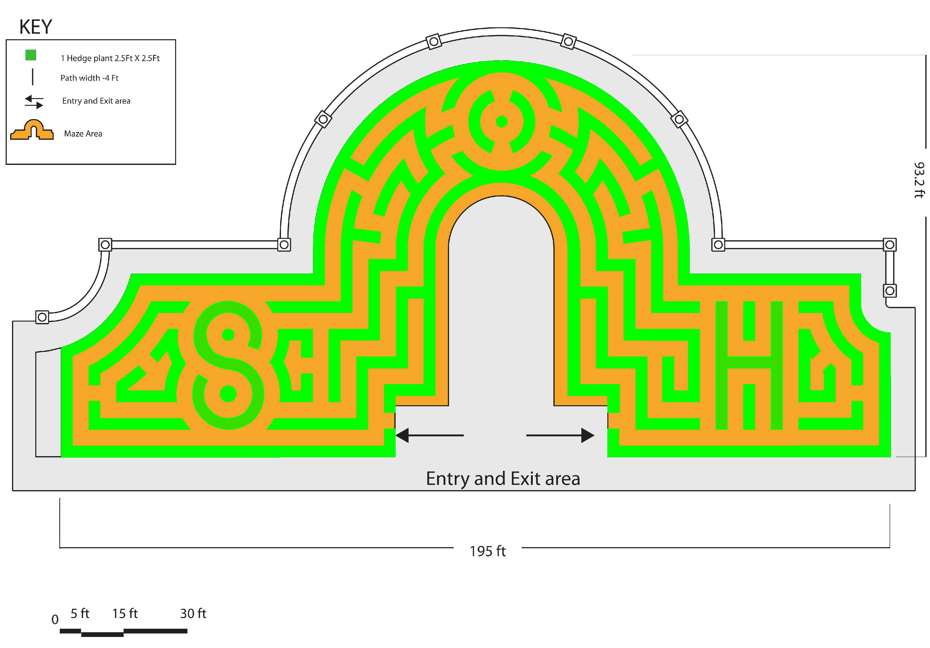 Photo: Stanley Hotel hedge maze winning design