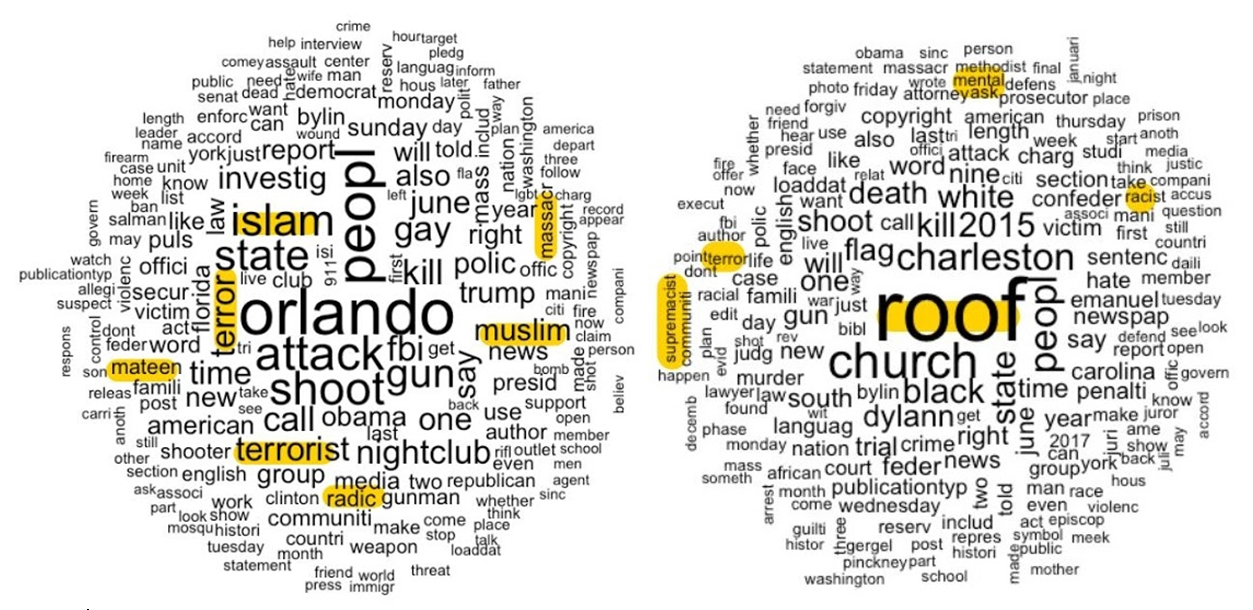 Image: Mateen and Roof Word Cloud