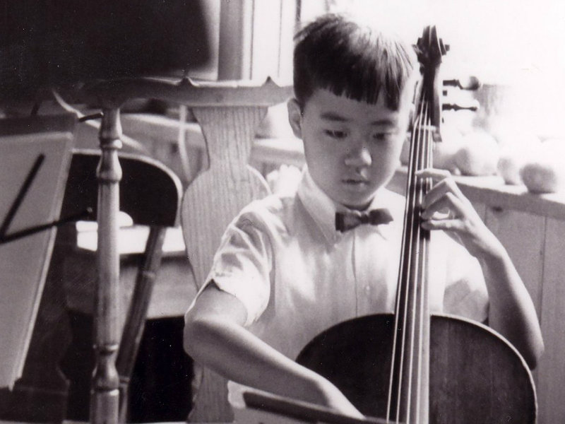 Photo: Young Yo-Yo Ma