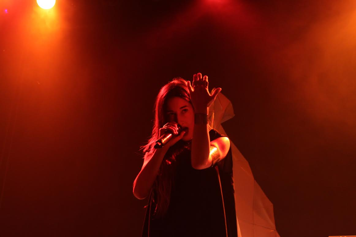 Photo: Zola Jesus live shot