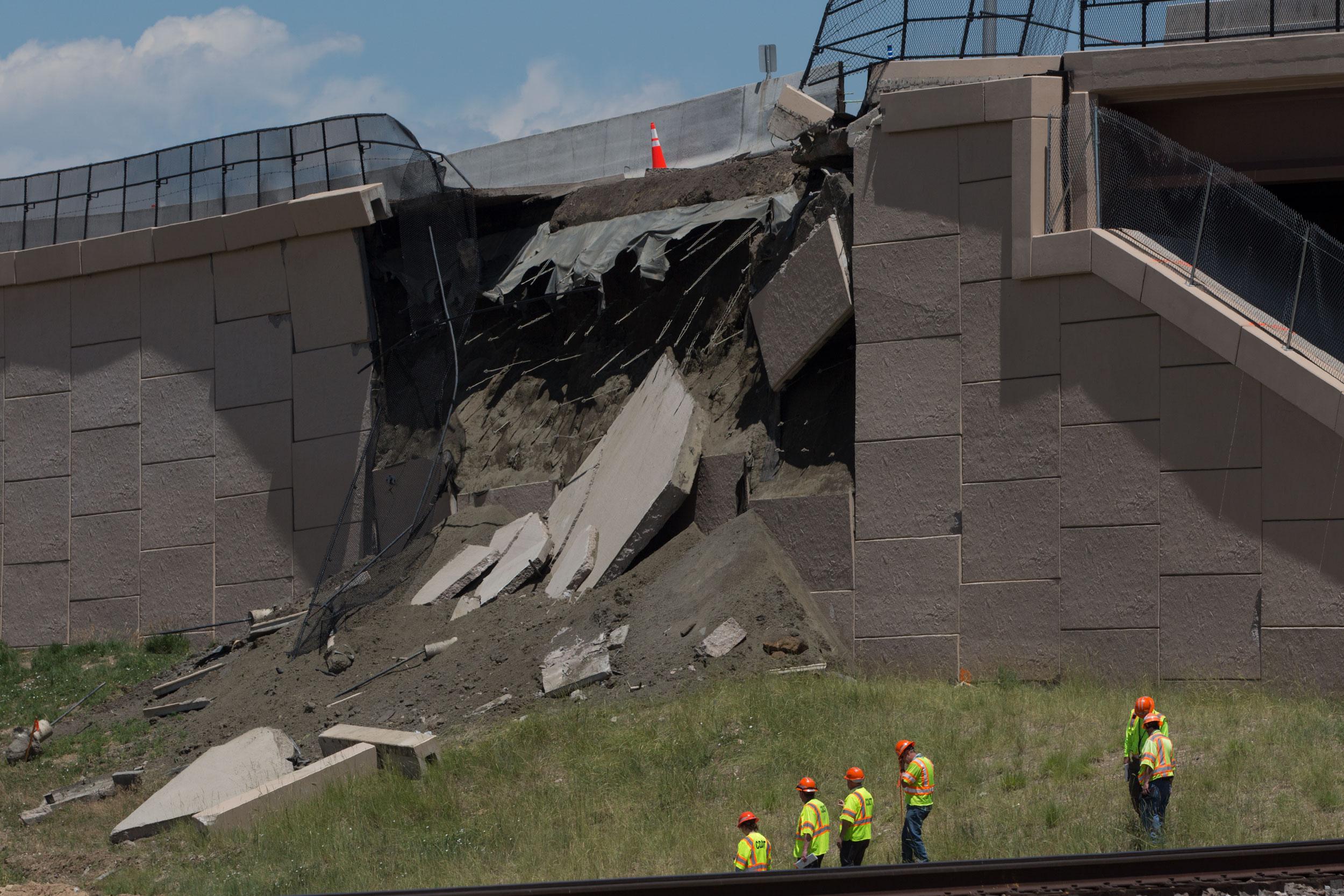 Hwy 36 Embankment Failure HV