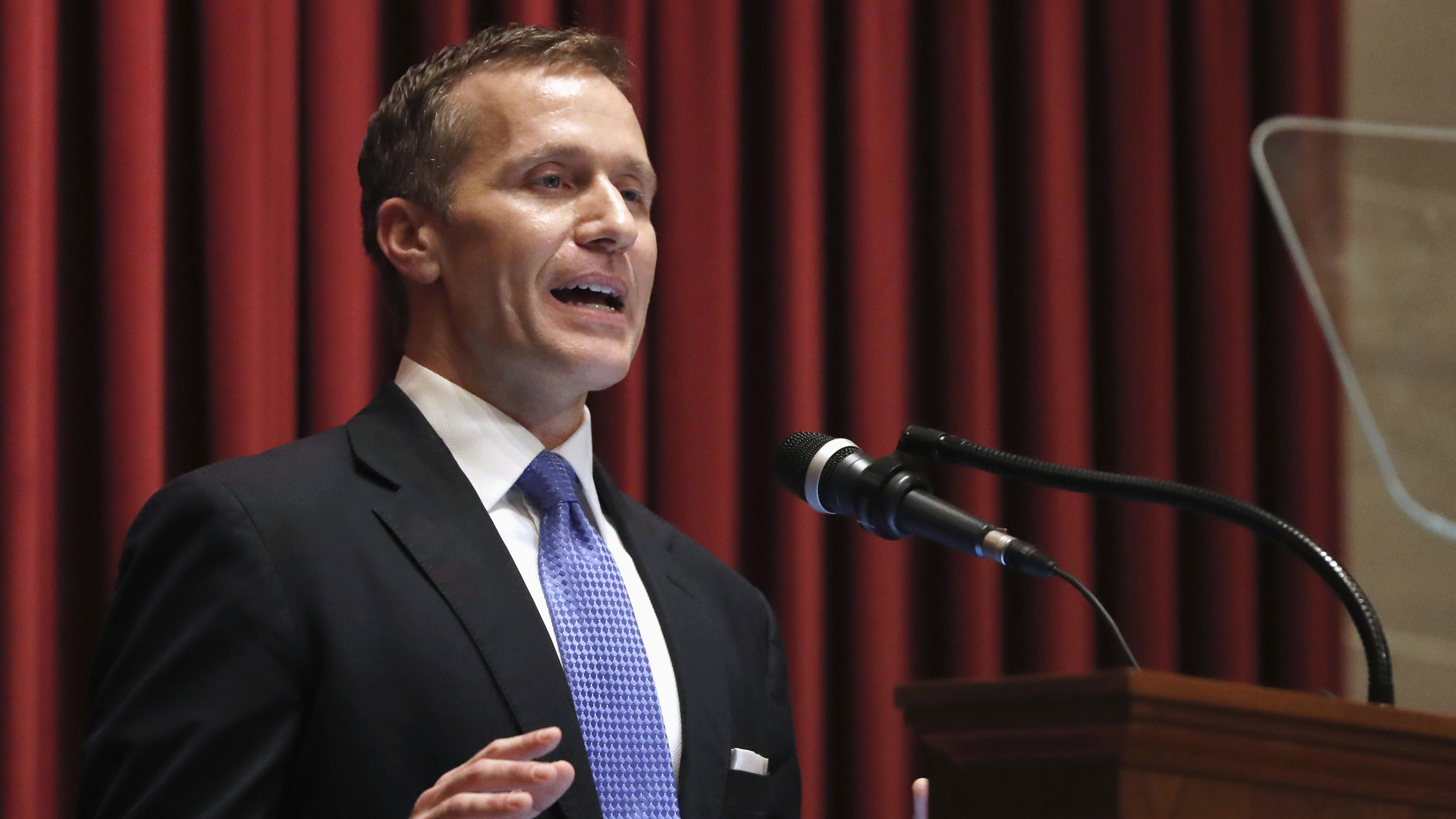 Gov. Eric Greitens accused of stealing charity donor list for campaign