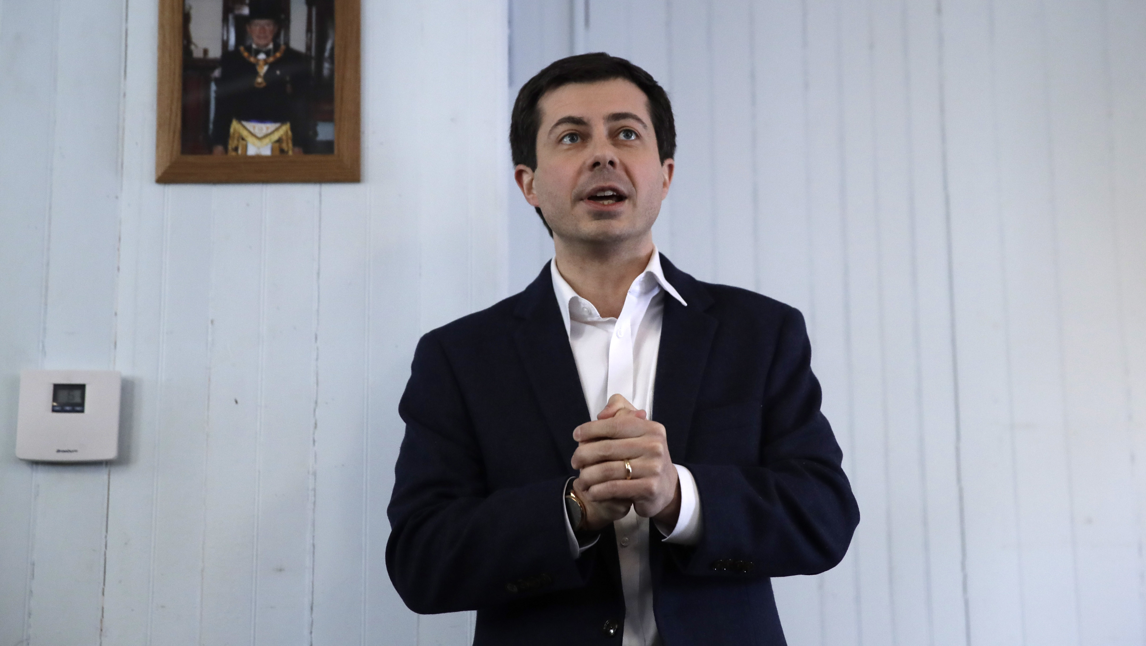 South Bend, Ind., Mayor and presidential candidate Pete Buttigieg.