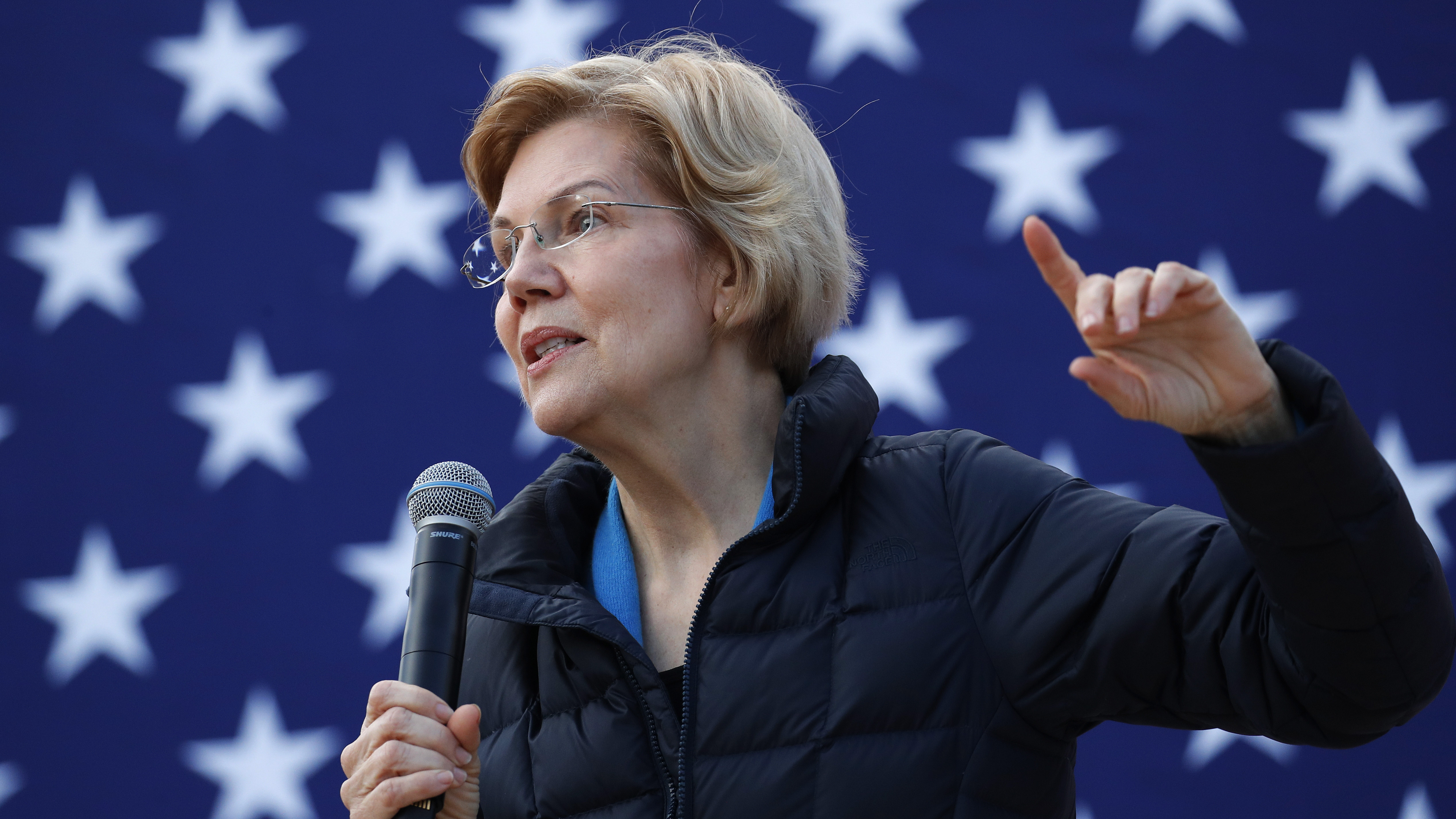 Presidential candidate Sen. Elizabeth Warren, D-Mass., at an organizing event in February 2019. Warren says she wants to get rid of the Electoral College, and vote for president using a national popular vote.