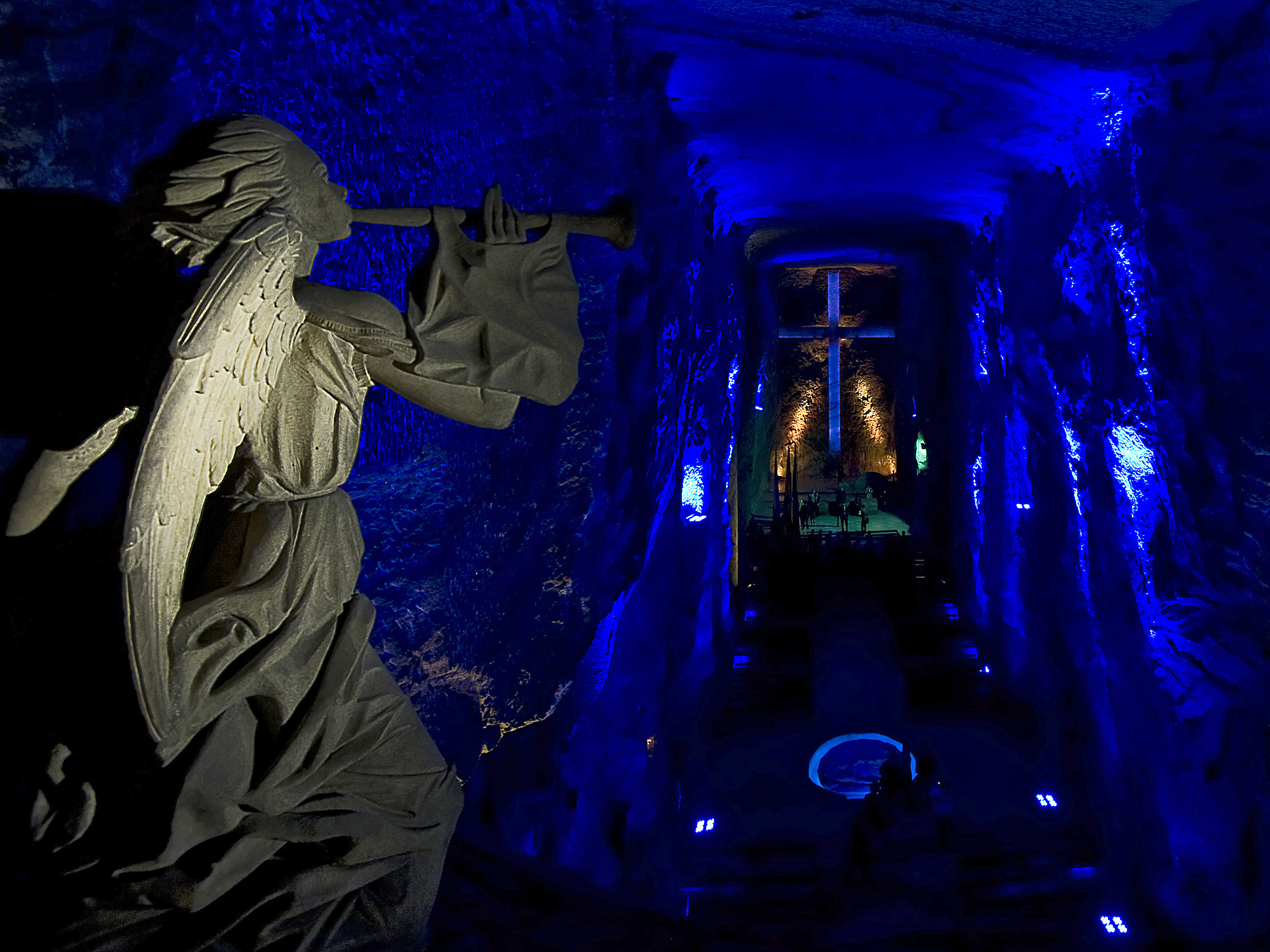 Colombia's Salt Cathedral Is A Marvel Of Architecture And A