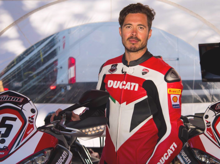 36-year-old Carlin Dunne died in a crash during the 2019 Pikes Peak International Hill Climb's motorcycle program.