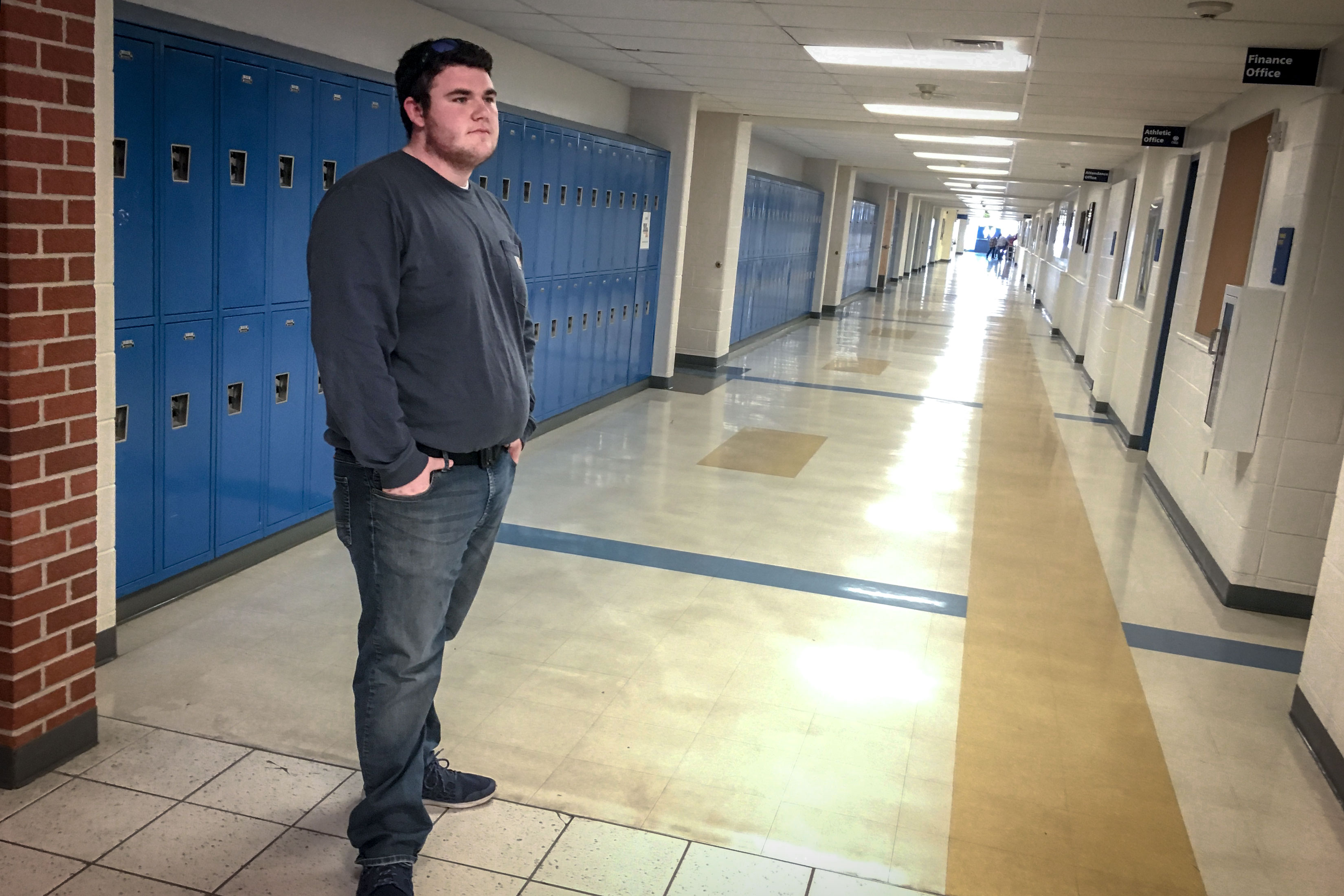 "Wheat Ridge High School student Jim Lynch said he got ""severely addicted"" to e-cigarettes, vaping one JUUL e-liquid pod per day — the quivalent to a pack of cigarettes. Lynch was able to quit with the support from his dad and a school nurse at, but he did so cold turkey and described the nicotine withdrawal as ""brutal"" and ""horrendous."""