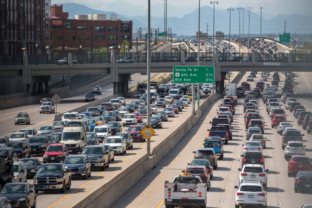 190806-DENVER-I25-INTERSTATE-25-TRAFFIC