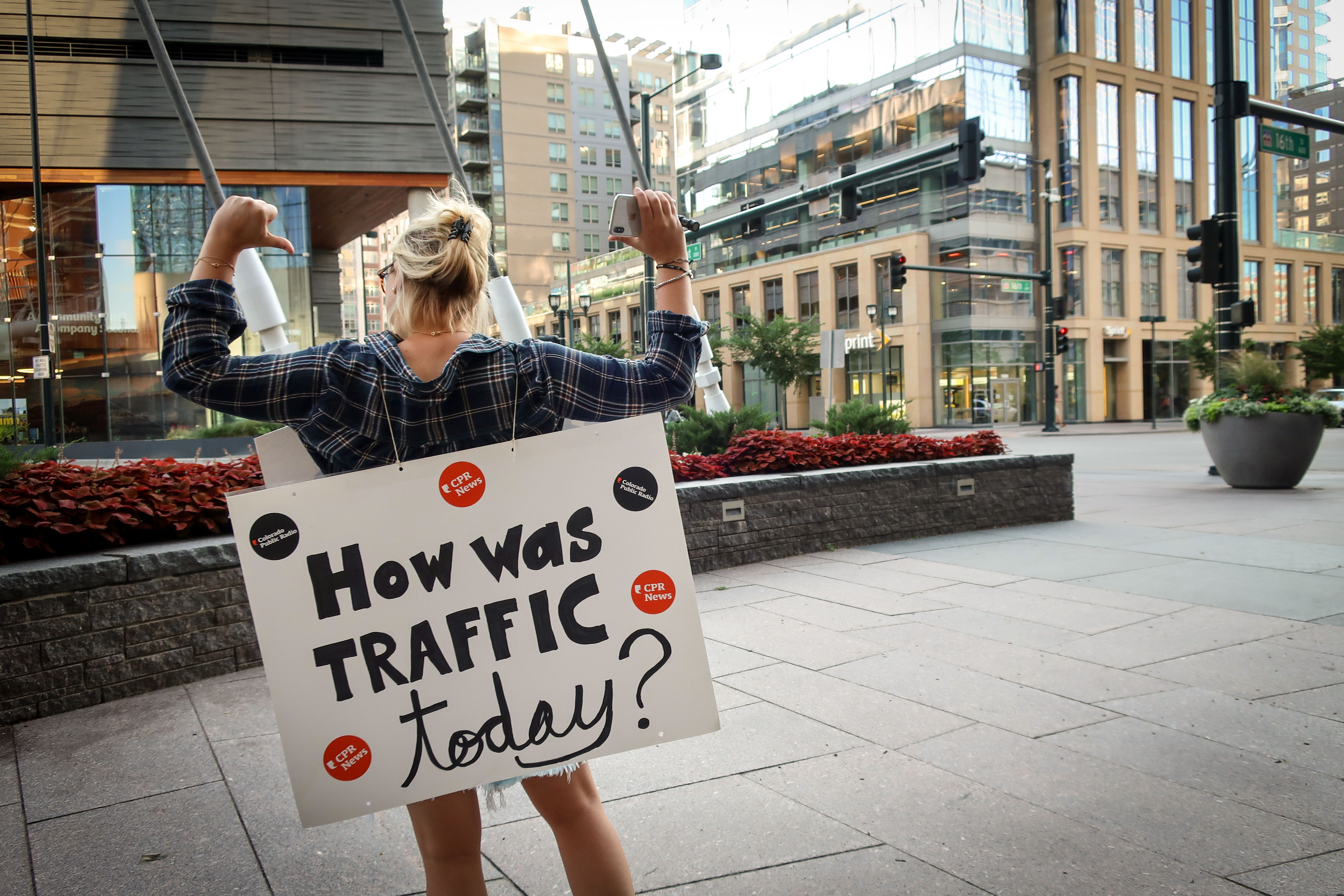 We wanted to know more about your commute, so we asked a few folks downtown. Now, we want to ask you too.