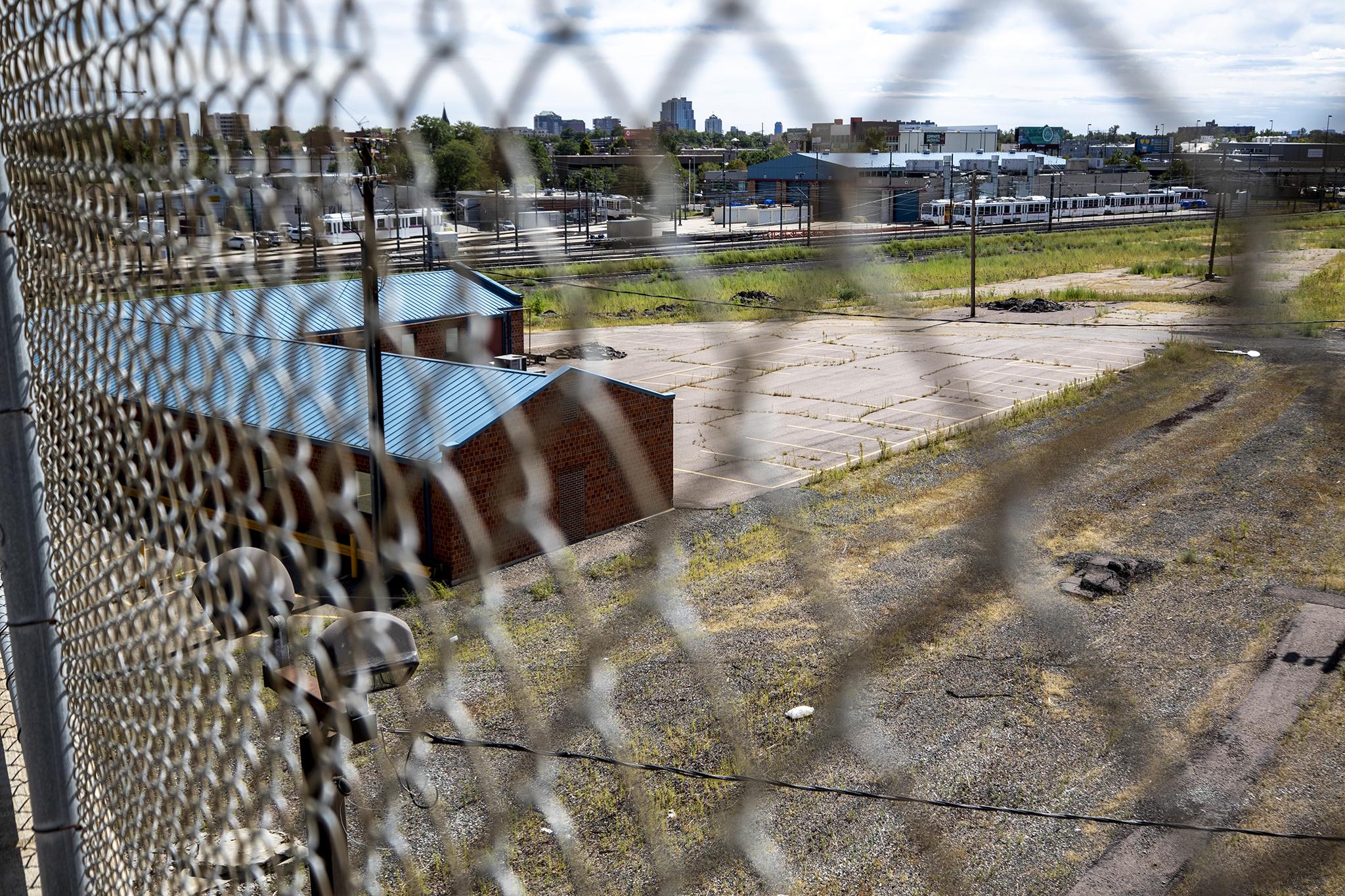 Burnham Repair Yard, Lincoln Park, Sept. 13, 2019. (Kevin J. Beaty/Denverite)