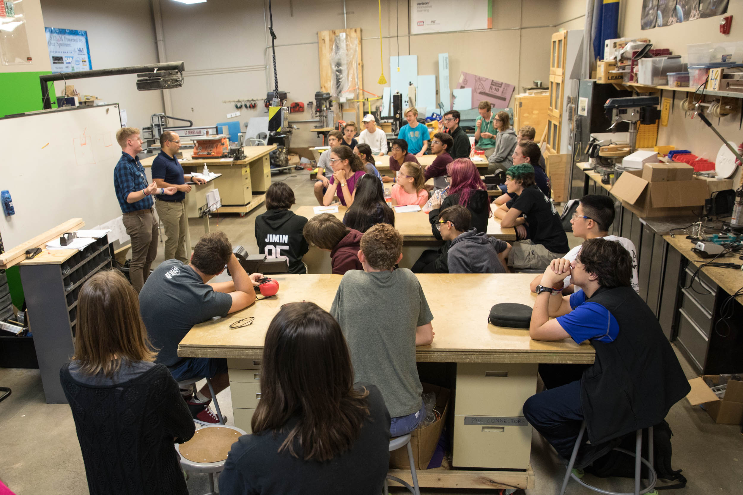 STEM SCHOOL ROBOTOCS TEAM RETURNS