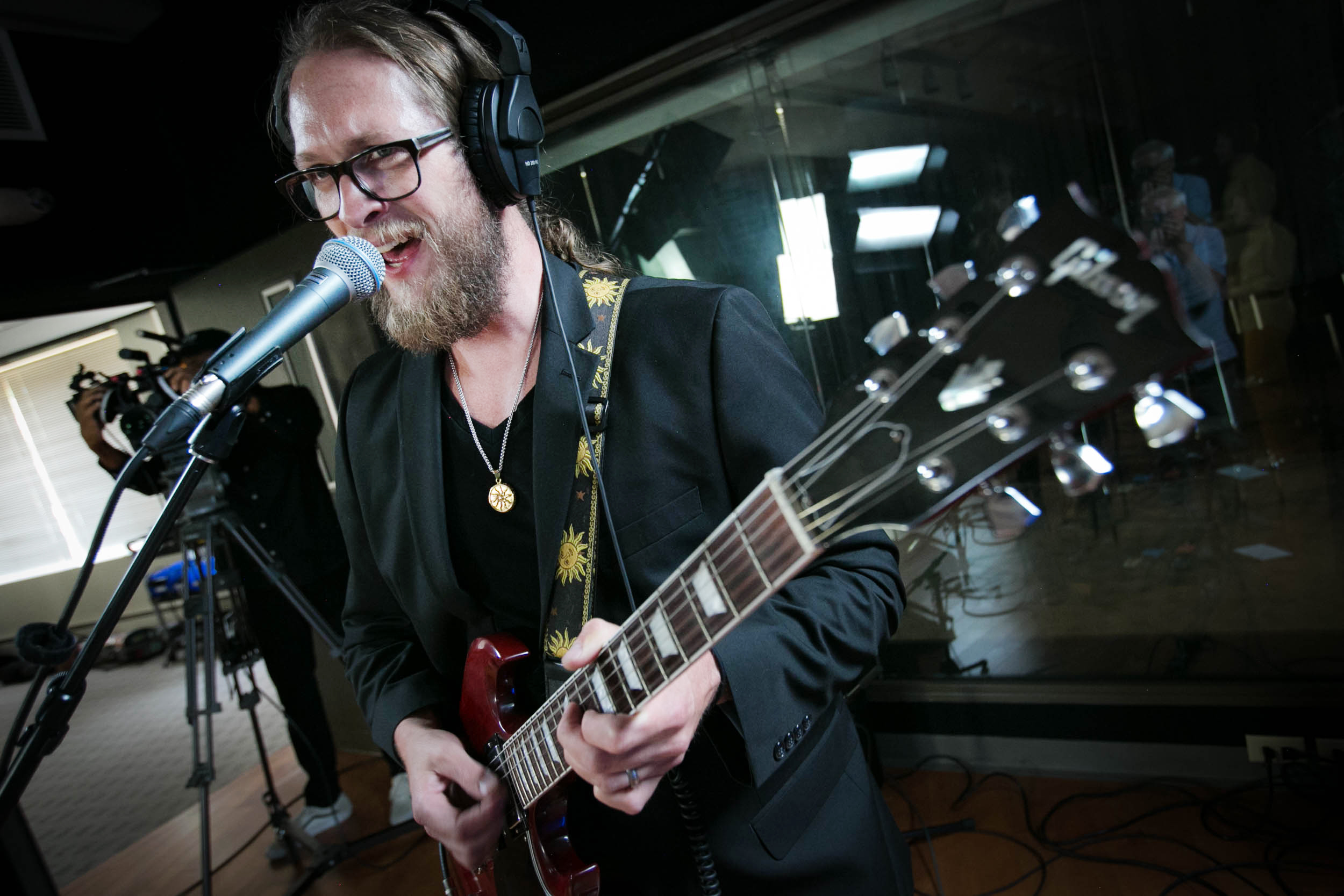 The Burroughs in the CPR performance studio