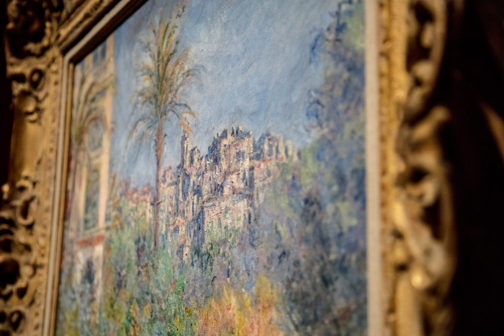 Detail of Villas at Bordighera, Claude Monet, 1884.