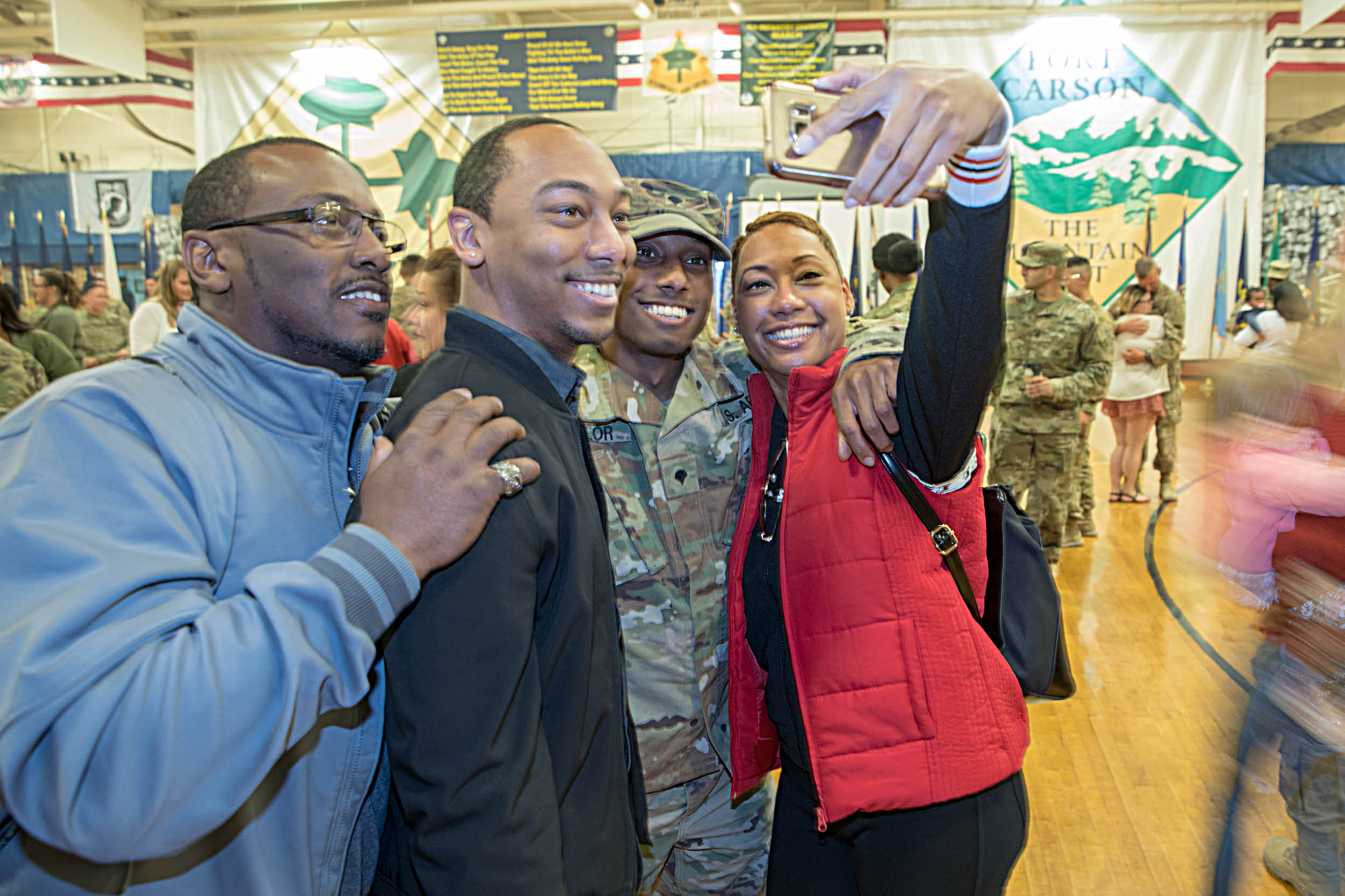 191015 FORT CARSON HOMECOMING