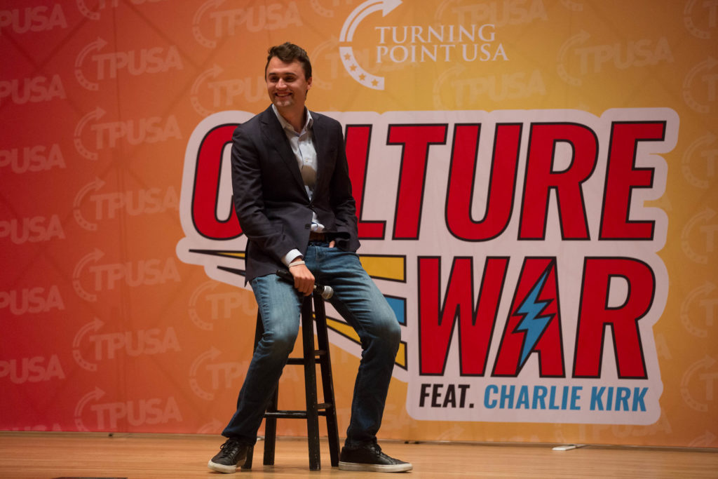 Donald Trump Jr. Charlie Kirk Turning Point USA CSU