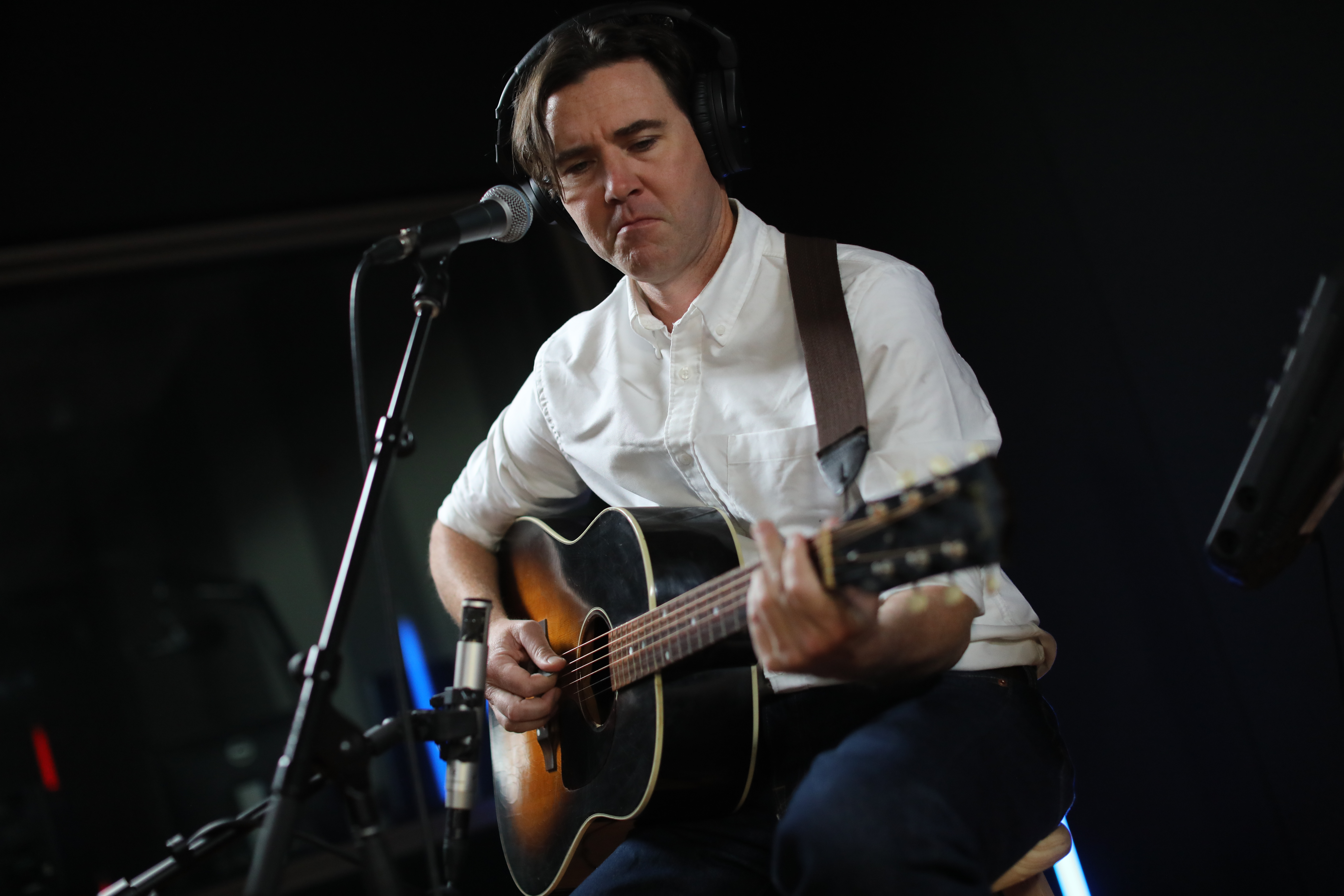 Cass McCombs And Band In The CPR Performance Studio Oct. 24 2019.