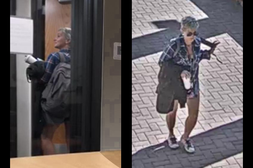 Images of the woman who was seen making racist comments toward students on the CU Boulder campus.