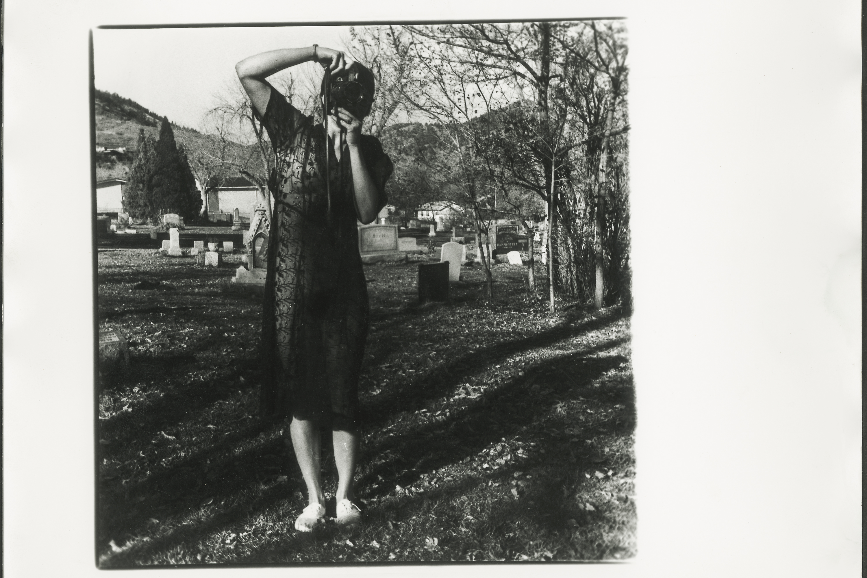 Francesca Woodman, Untitled photograph, circa 1975-1978. Gelatin silver print. George Lange Collection.