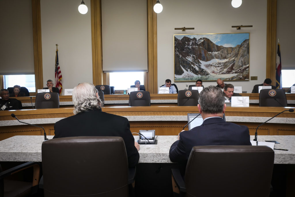 Photo: RTD executives at State Capitol