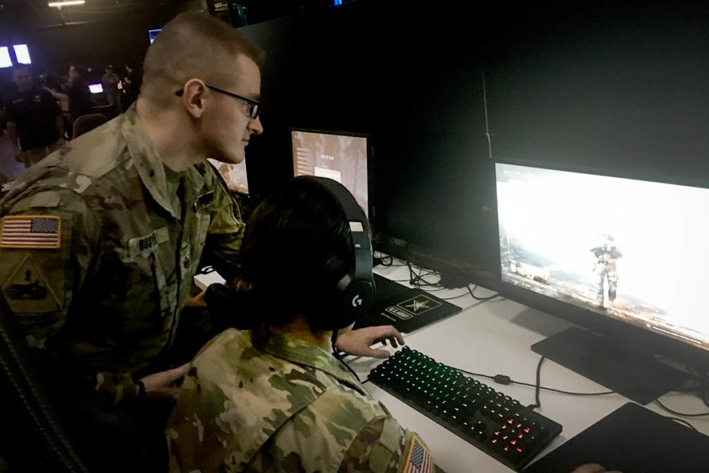 Military Recruiting Video Games