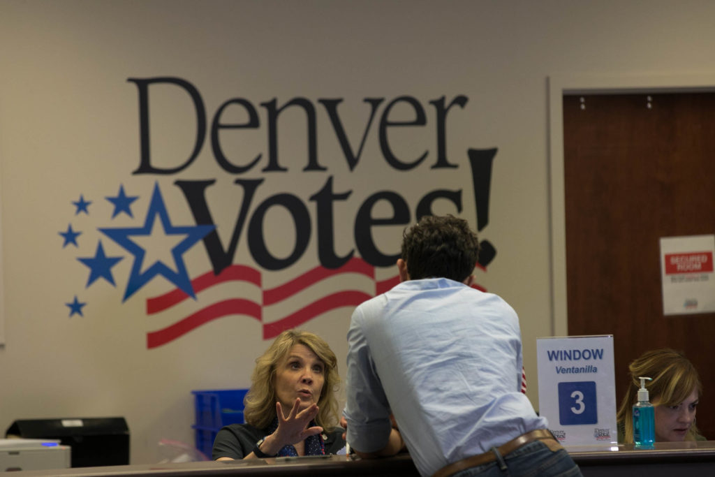 191105 ELECTION DAY PM VOTING DENVER