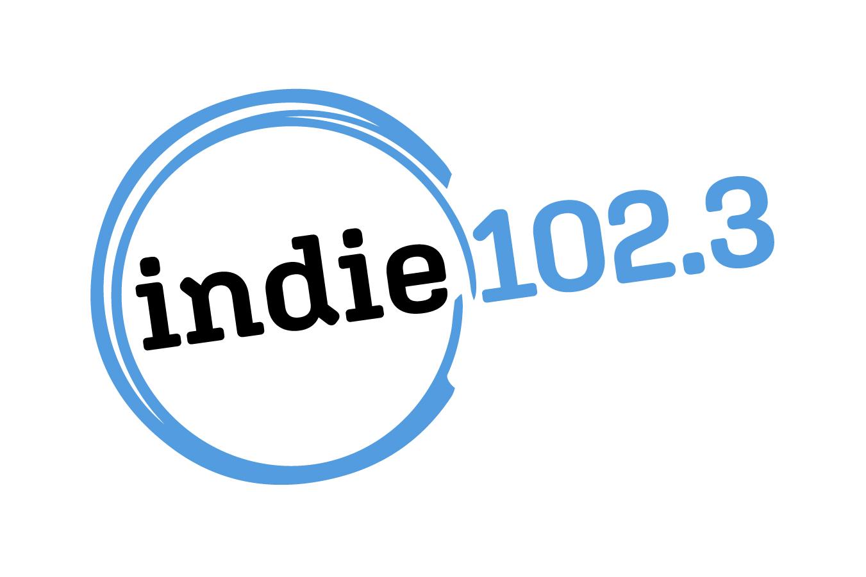 Indie 102.3 Logo Wide