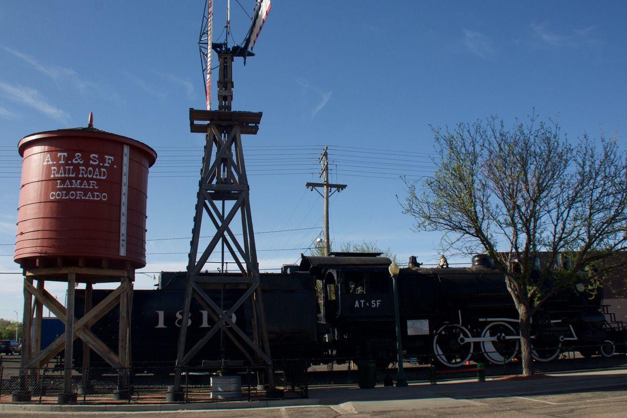 Historic Lamar Train Depot