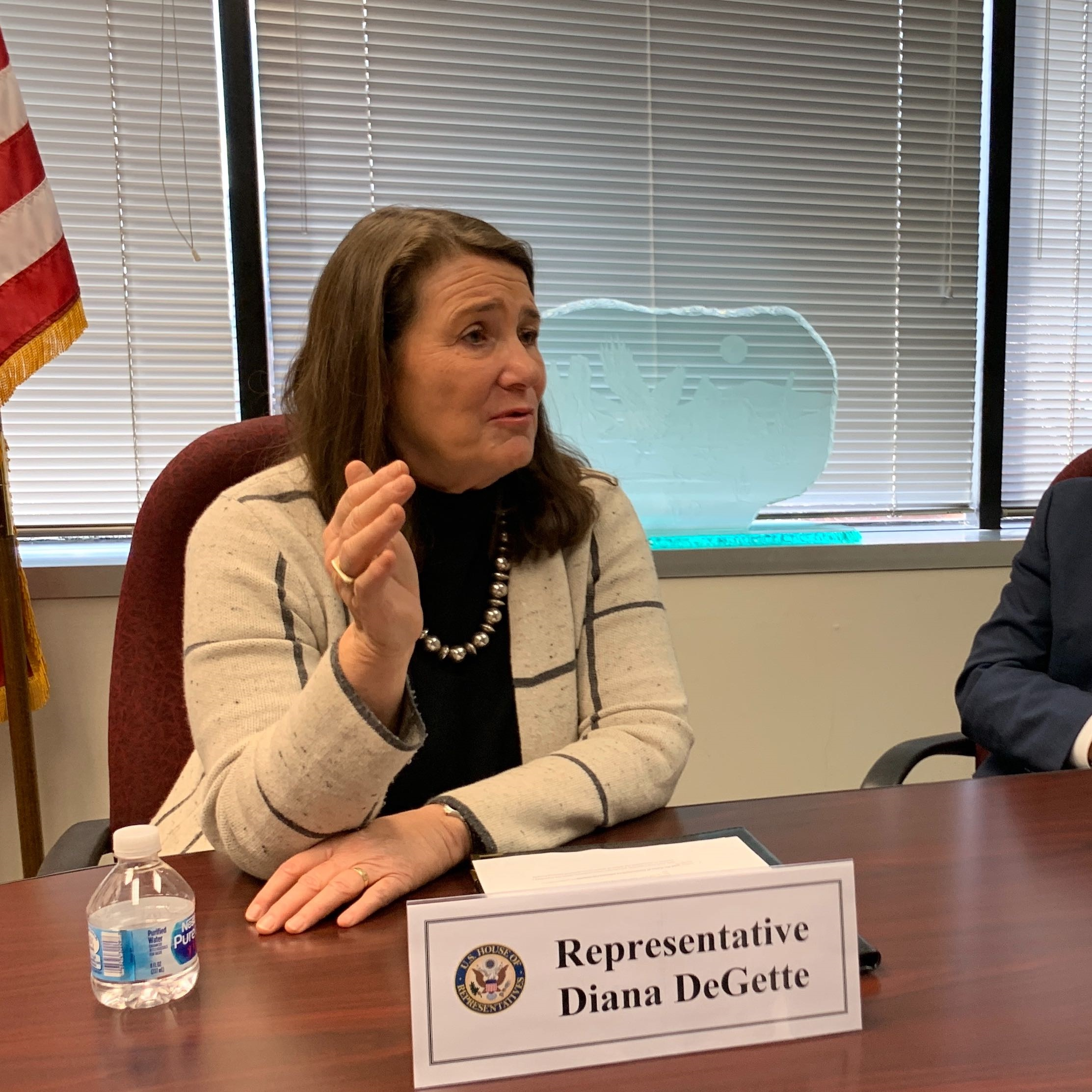 Rep. Diana DeGette (D-Denver) at her office in Denver, Nov. 4, 2019.